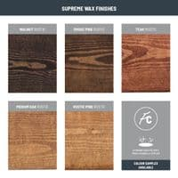 Pine - Rustic and Smooth Wax Finish Samples | Funky Chunky Furniture